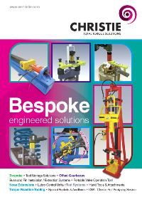 Now available: Bespoke Engineering Brochure