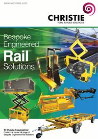 New Bespoke Engineered Rail Solutions Brochure now available
