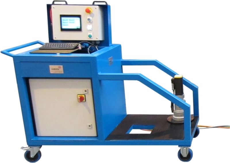 Valve Testing System - Control Trolley