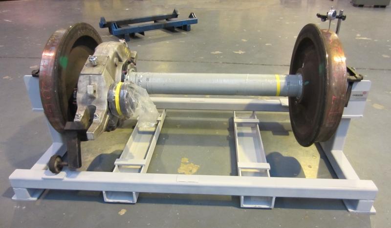 Wheel Ovality Check Stand