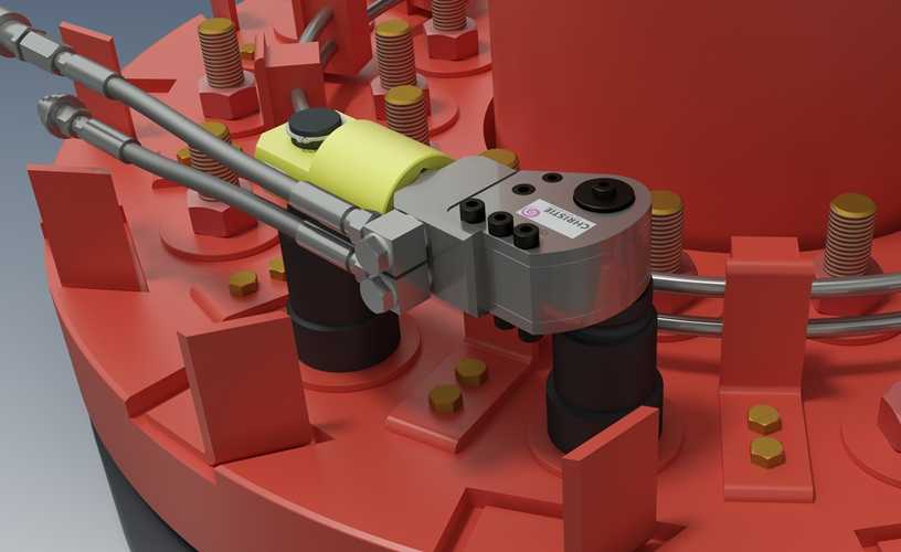 CR1.5 Hydraulic Torque Tool with Special Reactions